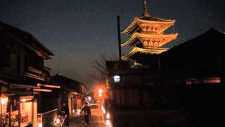 京都 春の風物詩「東山花灯路」