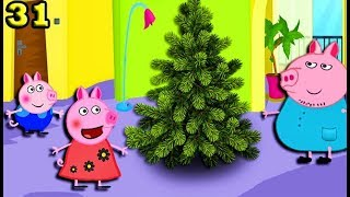 Мультики Свинка Пеппа новые серии  Папа Свин принес ёлку Мультфильмы для детей на русском