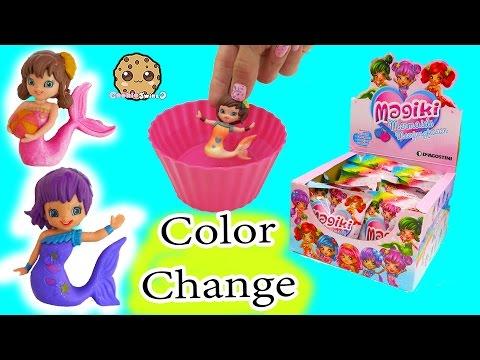 Magiki Color Changing Mermaids In Water Full Box
