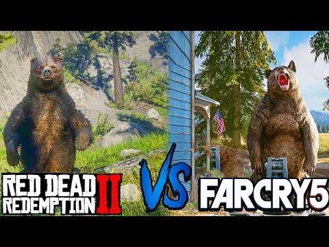 Red Dead Redemption 2 vs Far Cry 5 | Direct Comparison thumbnail
