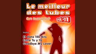 C'est pour toi (Karaoke Instrumental) (Originally Performed By Yannick Noah)