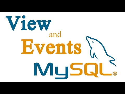 MySQL View and Events Tutorial