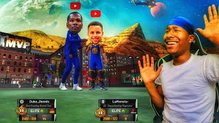 Can Duke Dennis and Lamonsta drop off COMP? Best 99 overall duo EVER! Best Build 2k19! Best Jumpshot