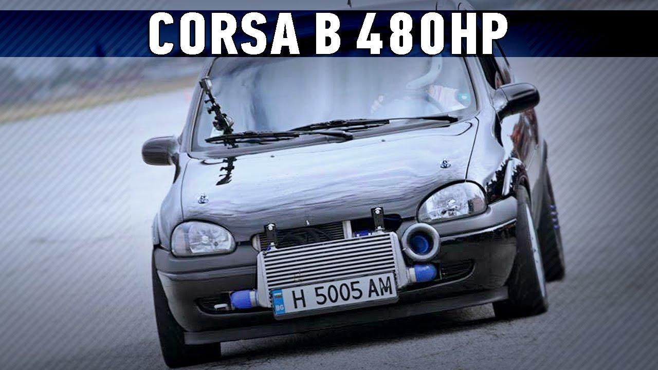 CORSA B GTX3071R TURBO X16XE 480HP   Autokinisimag