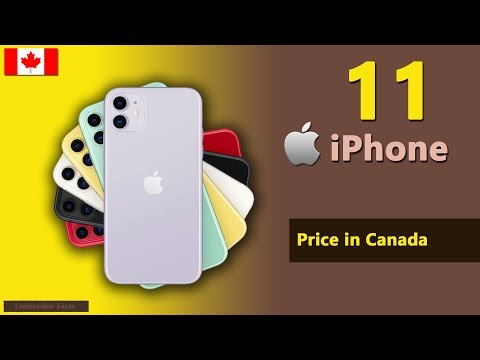 IPhone 11 Price In Canada