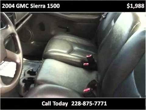 2004 GMC Sierra 1500 Used Cars Ocean Springs MS