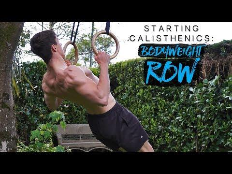 BODYWEIGHT ROW TUTORIAL | Starting Calisthenics