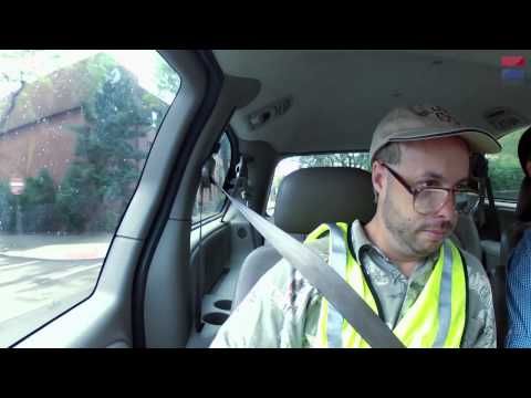 Ed Bassmaster as Skippy: World's Most Unfocused Driver - CAR and DRIVER