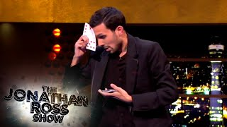 Download Video Dynamo Performs Magic Tricks - The Jonathan Ross Show MP3 3GP MP4
