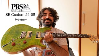 2021 PRS SE Custom 24-08 - Review and demo