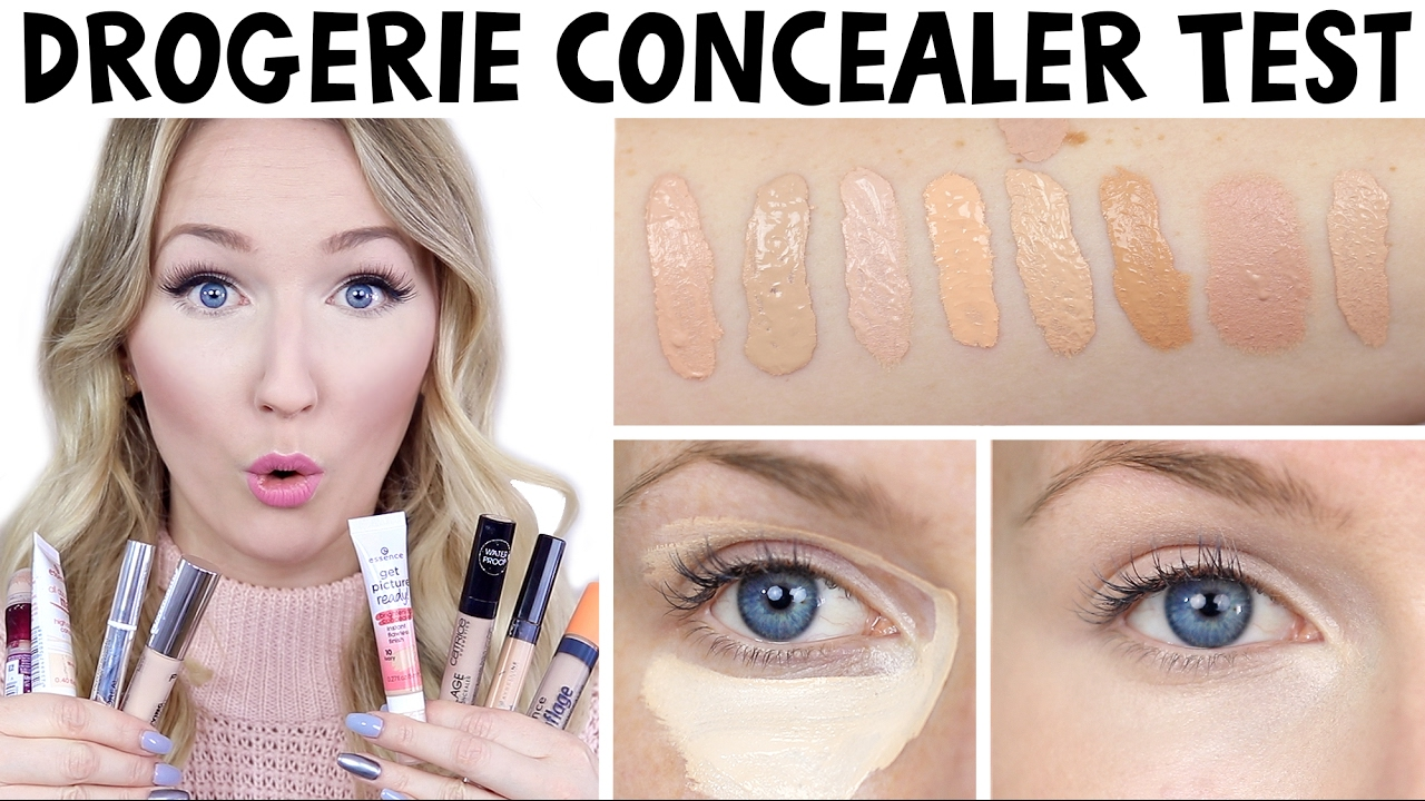 8 drogerie concealer im test welcher ist der beste drogerie duell thebeauty2go youtube. Black Bedroom Furniture Sets. Home Design Ideas