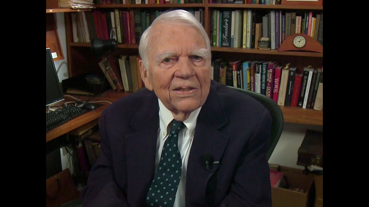 Veteran journalist Andy Rooney, 92, dies just one month after leaving his post at 60 Minutes