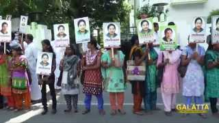 Human Chain by common citizen to support Jayalalitha
