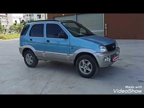 Bán xe cỏ Daihatsu terio SX 2003 giá 135tr LH 0986265090