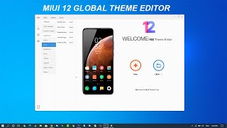 Design Your Own Miui 12 Themes Download New Miui Theme Editor For Pc English Version Youtube