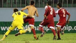 Pakistan vs Nepal (Highlights) SAFF Championship 2013