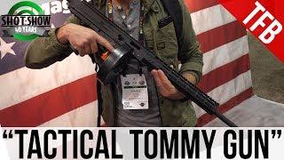 "[SHOT 2018] Auto-Ordnance/Thompson ""Tactical Tommy Gun"" Concept"