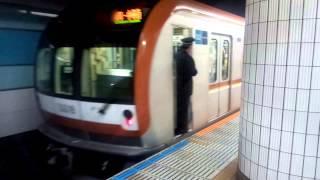 川越市から乗車してきて、降りた後に撮影。
