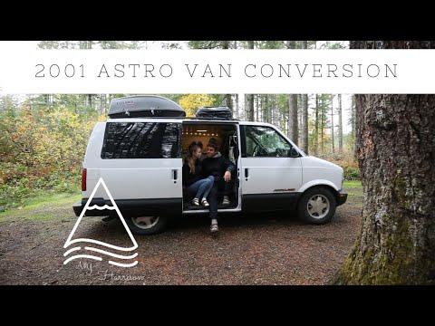 VAN TOUR   2001 Astro Van Conversion