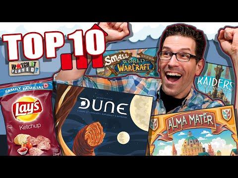 Top 10 Board Games Gaining Popularity | October 2020