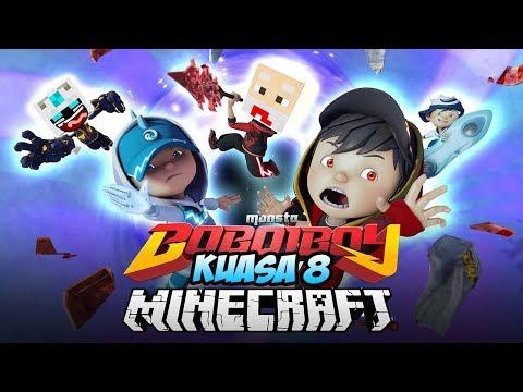 KEKUATAN BARU BOBOIBOY GALAXY KUASA 8! - Boboiboy Minecraft 1