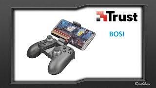 Trust Bosi - Bezprzewodowy gamepad z  uchwytem do telefonu (Android/PC)
