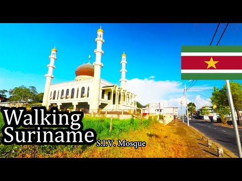 (4) Suriname 2017 -  Walking Around Paramaribo - September