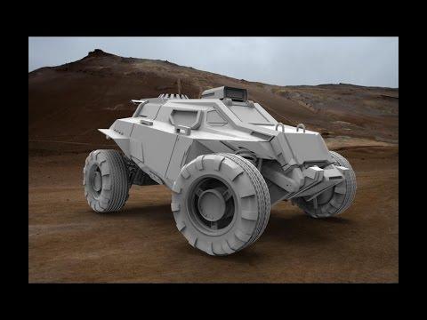 Blender 3D|Speed modeling|The concept art|