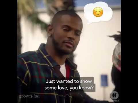 Grown Ish Season 2b Finale Zoey And Aaron Kiss Scene Youtube
