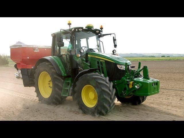 John Deere - Tractor 6M - 6120M-6140M  -Cultivable