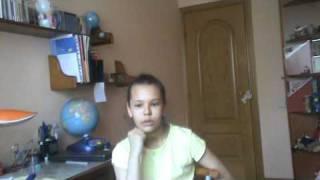 Английский.Урок риторики. Полина, 10 лет.