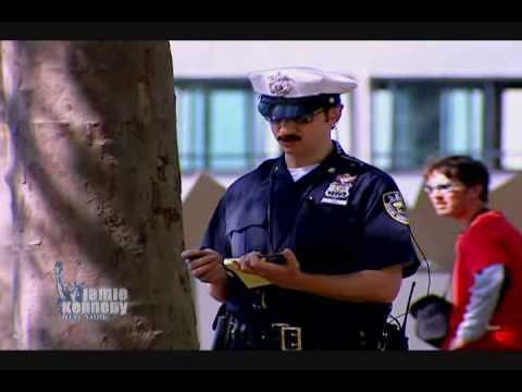 Jamie Kennedy Experiment  Smoking Police HD