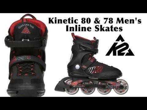 e9500662e9d K2 Kinetic 80 & 78 Men's Inline Skates Review - YouTube