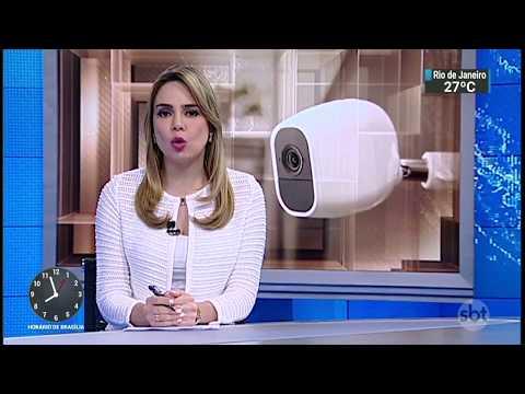 GCM é identificado como agressor de um rapaz em banheiro de shopping | SBT Brasil (15/02/18)