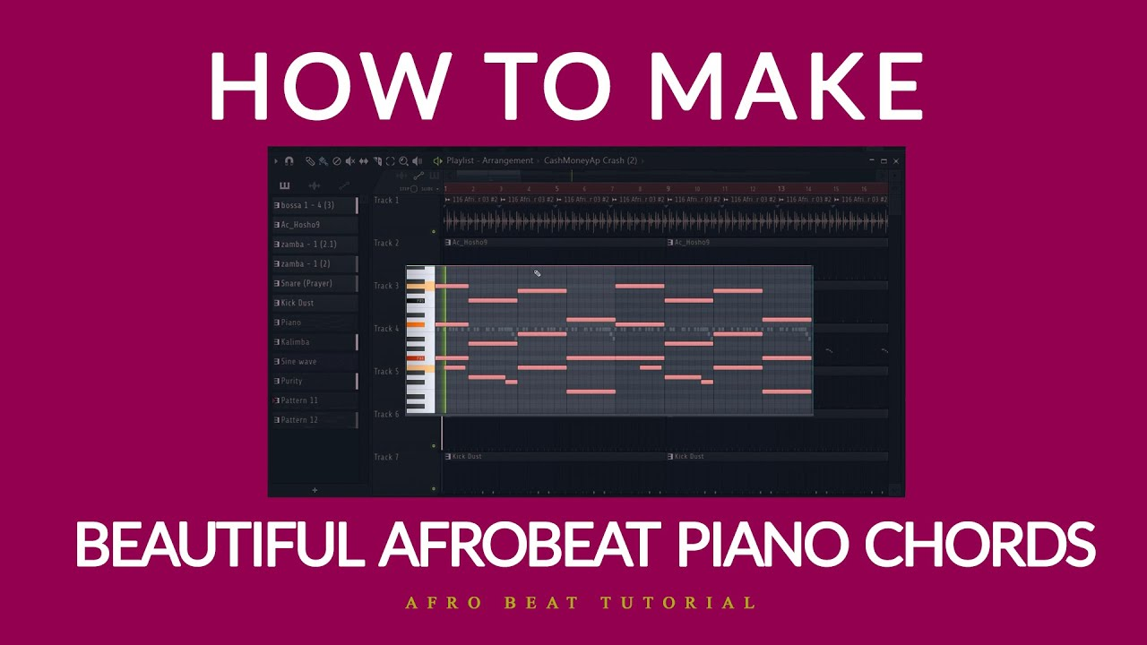 Download How to make beautiful Afro beat piano chords | Afro Beat Tutorial 2020