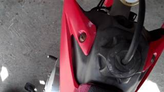 How to adjust the idle on a CRF 50