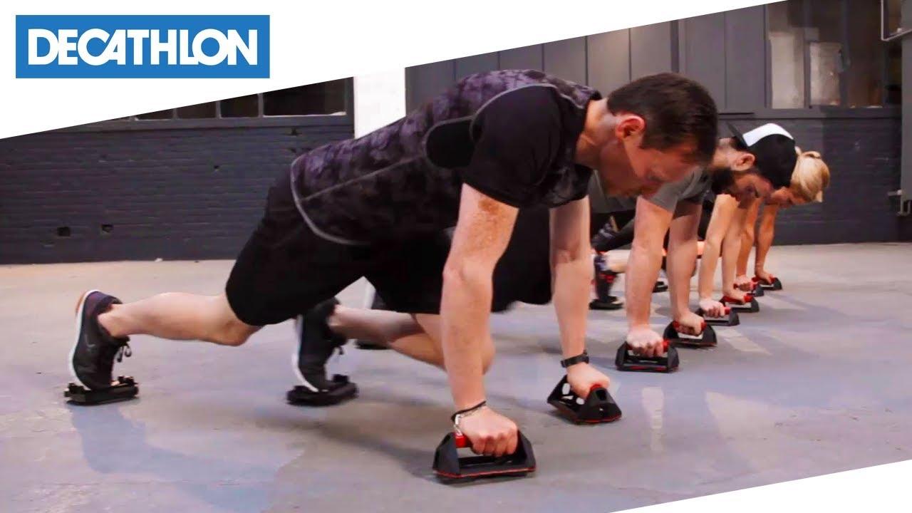 Domyos Cross training push-up bars