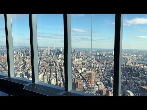 One World Trade Center tour in New York City.