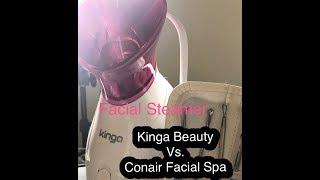 Facial Steamer (Kinga Beauty) Vs. Facial Spa (Conair) mi experiencia con ambos y cual es el mejor