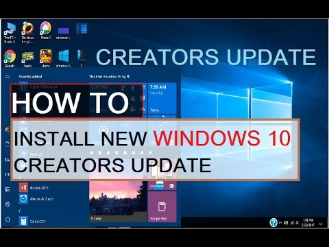 you can install this update when your iphone how you can install windows 10 new creators update 1858