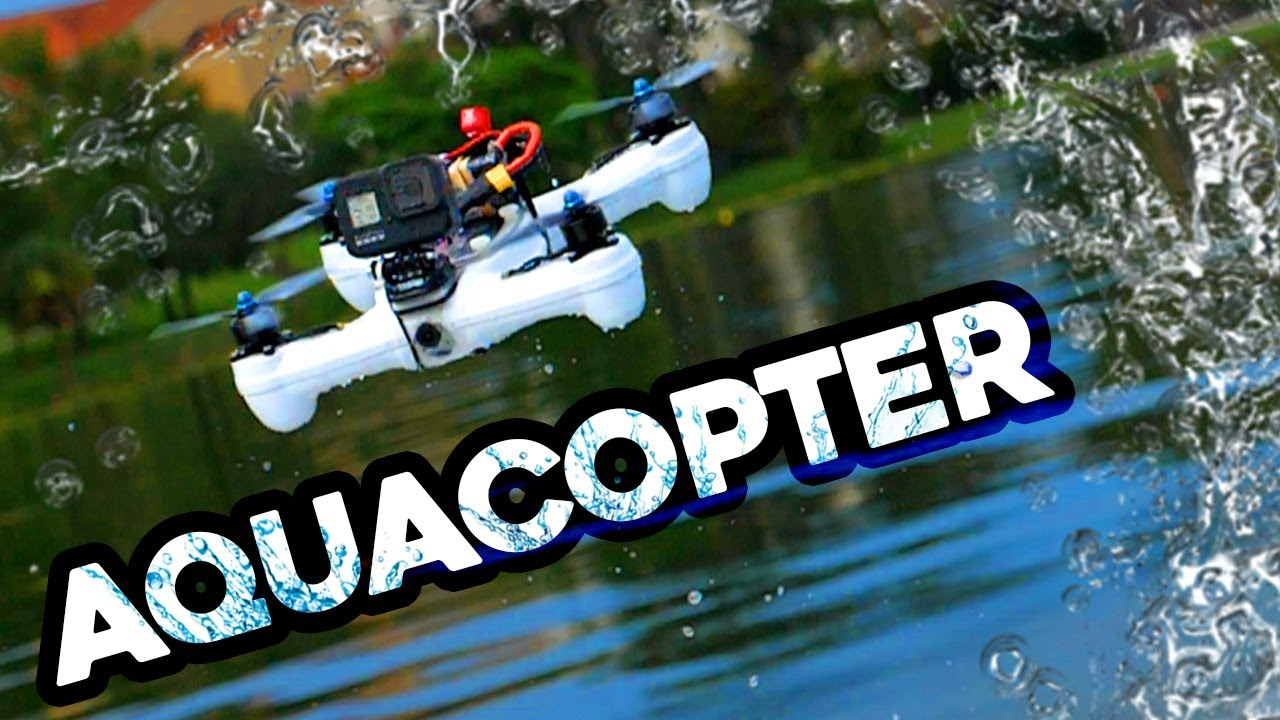 AQUACOPTER! – flying drones over water...