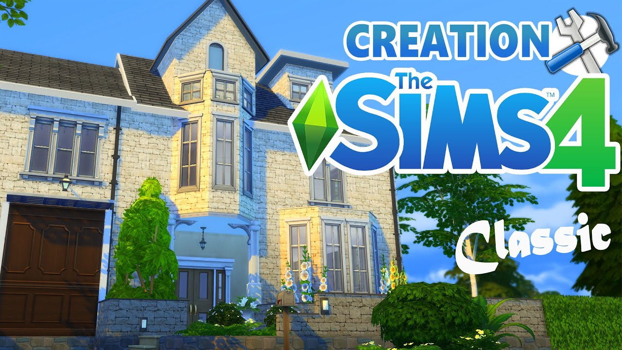 Classic house construction sims 4 youtube for American classic house mouse