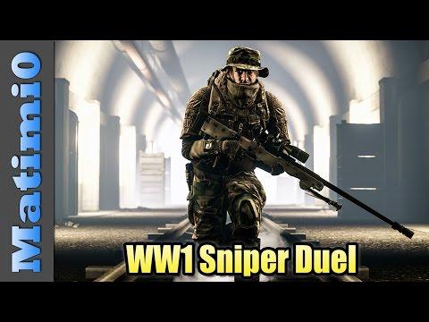 WW1 Sniper Duel  - Battlefield 4