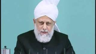 Friday Sermon: 29th October 2010 - Part 2 (Urdu)