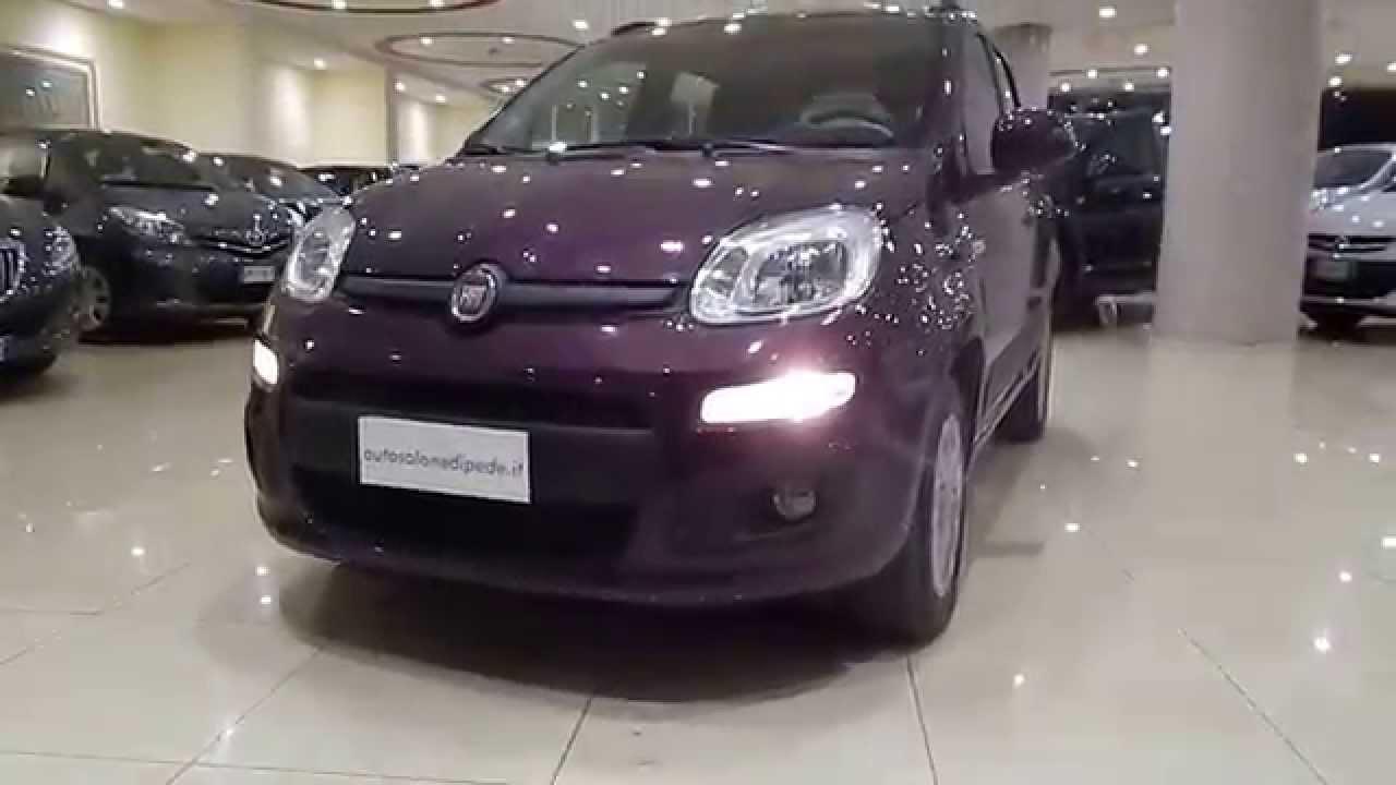 Nuova Fiat Panda 1 2i 69cv Lounge Anno 2013 Semestrale Aziendale