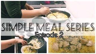 SIMPLE MEALS SERIES| EPISODE 2 | CREAMY CHICKEN & PILAU RICE | SMDB