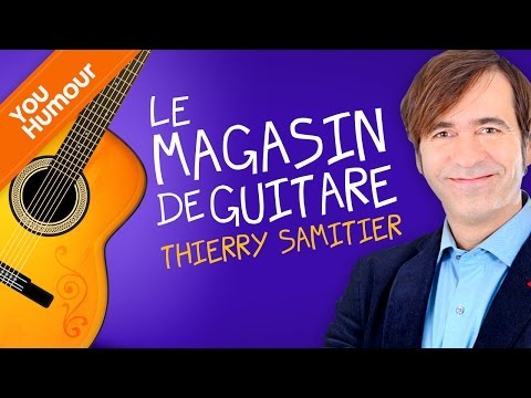 Thierry SAMITIER, Le magasin de guitare