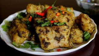 Crispy Basa Fish In Chilly Basil Sauce Recipe