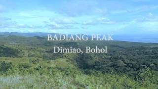 come see badjang peak pagsa dimiao bohol
