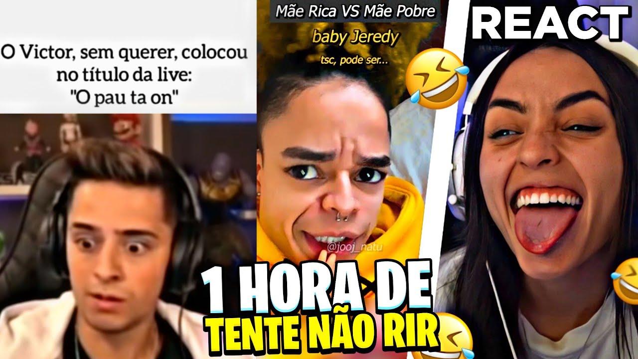 1 HORA DE LOUD BABI REAGINDO A MEMES!! TENTE NÃO RIR!!